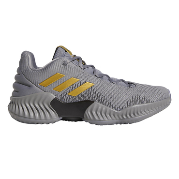 Adidas Pro Bounce 2018 Low Herren Basketballschuhe Grau One
